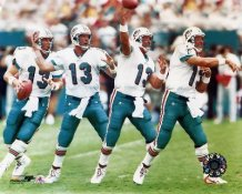 Dan Marino Multiple Exposure Miami Dolphins 8X10 Photo