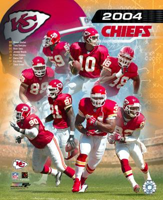 Chiefs 2004 Composite Kansas City  8X10 Photo