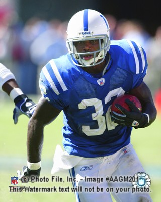 Edgerrin James  Indianapolis Colts 8X10