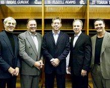 Troy Aikman Roger Staubach Don Meredith Craig Morton Danny White Dallas Cowboys Quarterbacks 8X10