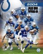 Colts 2004 Indianapolis Team Composite 8X10