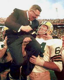 Vince Lombardi & Kramer Green Bay Packers 8X10