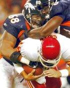 Reggie Hayward Denver Broncos LIMITED STOCK 8X10 PHOTO