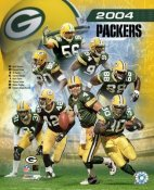 Green Bay Packers 2004 Team Composite 8X10