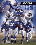 Detroit Lions 2004 Team Composite 8X10