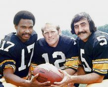 Terry Bradshaw Gilliam & Hanraty Steelers 8x10 Photo