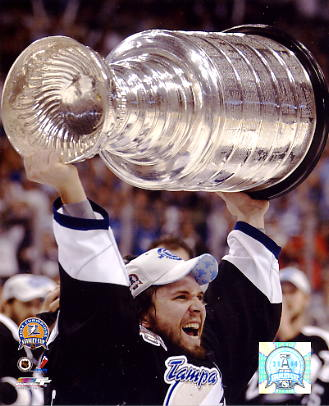 Martin St. Louis 2004 Stanley Cup LIMITED STOCK 8x10 Photo