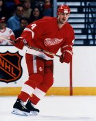 Jamie Pushor Detroit Red Wings 8x10 Photo
