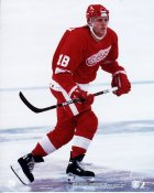 Kirk Maltby Detroit Red Wings 8x10 Photo