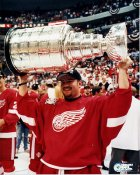 Norm Maracle with Stanley Cup 1997 Red Wings  8x10 Photo