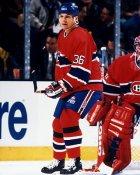Murray Baron Montreal Canadiens 8x10