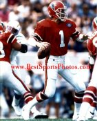 Jeff George Atlanta Falcons 8X10