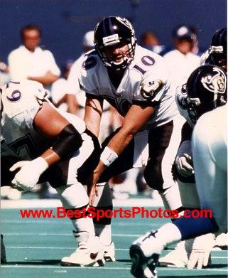 Eric Zeier Baltimore Ravens 8X10