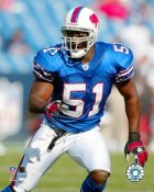 Takeo Spikes Buffalo Bills 8X10 Photo