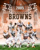 Cleveland 2005 Browns Team Photo 8X10
