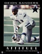 Deion Sanders LIMITED STOCK Dallas Cowboys 8X10 Photo