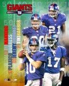 05 Big 4  New York Giants 8X10
