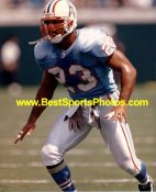 Blaine Bishop Houston Oilers 8X10