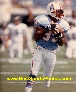 Ronnie Harmon Houston Oilers 8X10