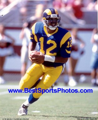 Tony Banks St. Louis Rams 8X10