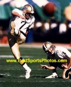 Morten Anderson New Orleans Saints 8X10 Photo