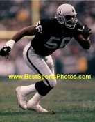 Pat Swilling Oakland Raiders 8X10