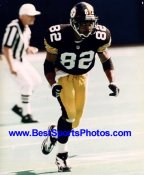 Yancey Thigpen LIMITED STOCK Pittsburgh Steelers 8x10 Photo