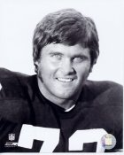 Gerry Moon Mullins 3 Gerry Mullins Pittsburgh Steelers BW 8x10 Photo