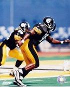 Greg Lloyd 3 Pittsburgh Steelers 8x10 Photo
