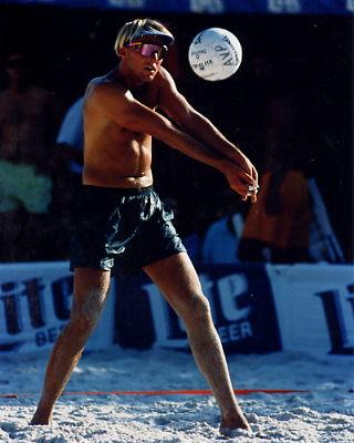 Adam Johnson 1 8X10 Volleyball Photo
