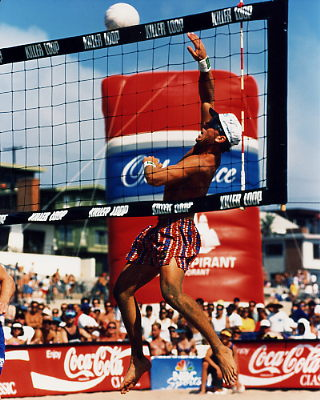 Brian Lewis 1 8X10 Volleyball Photo