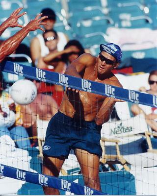 Kent Steffes 8X10 Volleyball Photo