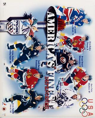 Americans Defense NHL Olympic 8x10 Photos