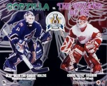 Kolzig and Osgood Detroit Red Wings 8x10 Photo
