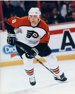 Shaun Antoski Philadelphia Flyers 8x10 photo