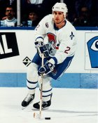 Kerry Huffman Quebec Nordiques 8x10 Photo