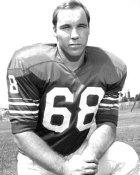 Joe Delamielleure Buffalo Bills BW 8X10 Photo