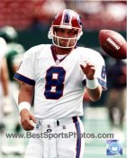 Billy Joe Hobert Buffalo Bills 8X10 Photo