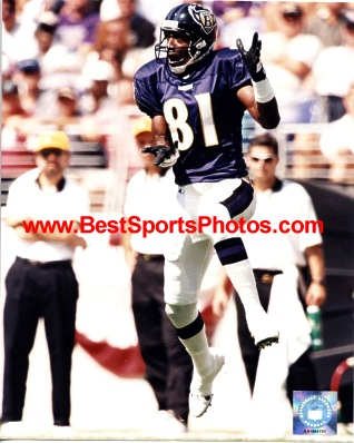 Michael Jackson Baltimore Ravens 8X10 Photo