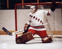 Eddie Giacomin New York Rangers SATIN 8x10 Photo