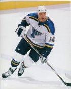 Geoff Courtnall St. Louis Blues 8x10 Photo