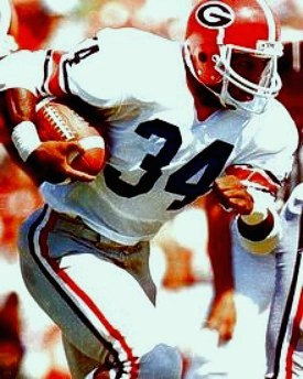 Herschel Walker Georgia Bulldogs 8X10 Photo