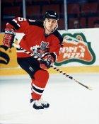 Mark Strobel AHL Albany River Rats 8x10 Photo