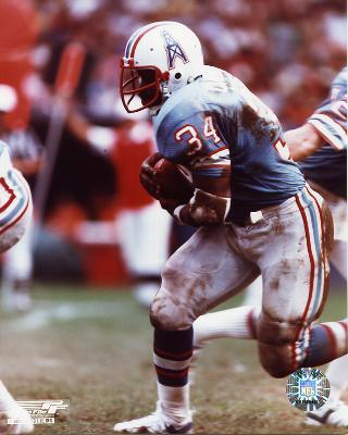 Earl Campbell Houston Oilers SATIN 8X10 Photo