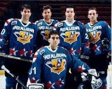 Kalamazoo Wings IHL All Stars East 1995 8x10 Photo