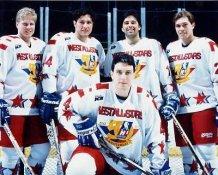 Admirals IHL All Stars West 1995 8x10 Photo