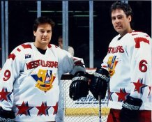 Grizzlies IHL All Stars West 1995 8x10 Photo