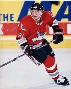 Jan Caloun IHL Kansas City Blades 8x10 Photo
