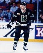 Dave Barr IHL  Michigan K-Wings 8x10 Photo