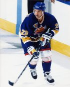 Greg Paslawski IHL  Peoria Rivermen 8x10 Photo